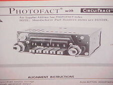 1967 SUNBEAM ALPINE ROADSTER TIGER CONVERTIBLE RAPIER AM RADIO SERVICE MANUAL 2