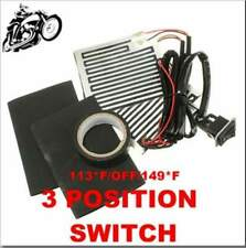 12V Universal Motorcycle~ATV Heated Handlebar Grips W/ 3 Position Switch