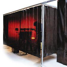 Schweißerschutzvorhang Schweißervorhang 130 x 180 cm rotorange Schweißvorhang