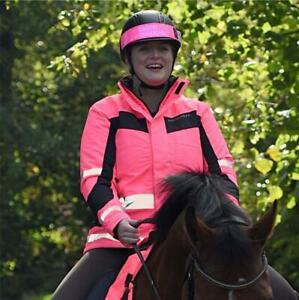 Equisafety Winter Reversible Inverno Riding Jacket Pink