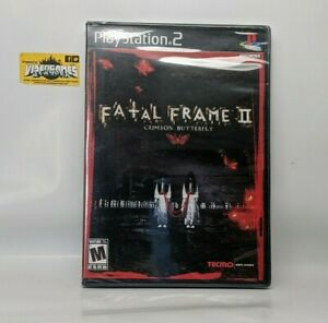 Fatal Frame II 2 : Crimson Butterfly US version PS2 Brand New Factory Sealed