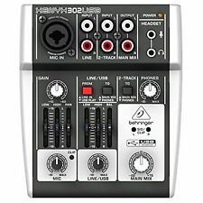 BEHRINGER XENYX 302USB mixer Audio Interface New Japan F/S w/Tracking