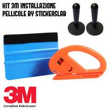 Kit applicazione pellicole car wrapping (Spatola 3M blu - taglierino - magneti)