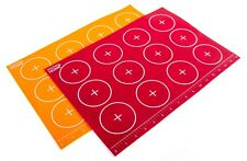 Silicone Baking Mat - 2 Non Stick Oven Baking Cookie Sheet Tray Pan Liners