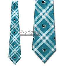 Sharks Tie San Jose Sharks Neckties Officially Licensed Mens Neck Ties NWT
