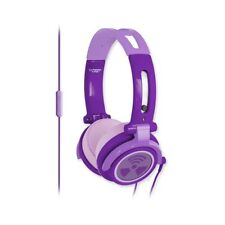 cuffia IFROGZ EARPOLLUTION CS40s purple +microfono no wesc xDJ iPhone iPod NUOVA