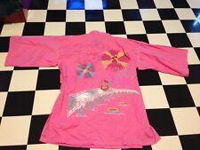 Sanrio Hello Kitty Womens Japanese Pink Kimono Dress Rare From Japan One Size