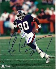 Chris Calloway autographed 8x10 New York Giants #2 Free Shipping