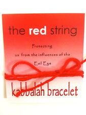1 blessed Red String KABBALAH bracelet against evil eye, from the holyland