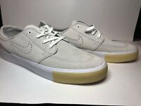 🔥 Nike SB Zoom Stefan Janoski RM SE CD6612-109 Vast Grey Suede Men Size 10.5 US