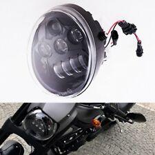 Harley VRSC Vrod V rod LED OVAL Harley Head light Daymaker V rod 2002-2017 Black