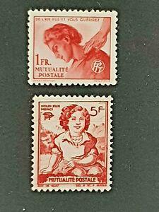 FRANCE 1944/45 Bienfaisance des PTT N°30-45 Yvert 2021 // 8€ // MNH**