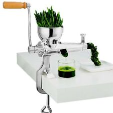 Hand Manual Wheatgrass Juicer Heavy Duty Stainless Steel Leafy Green Juicer DIY