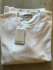 Givenchy Mens White Sleeve Logo Sweatshirt New With Tags Size L RRP £570