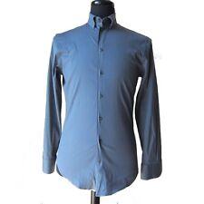 Pre-owned Emporium Armani Dark Gray Men Dress Shirt Euro US Size 15  R-7011