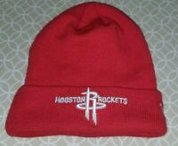NBA Houston Rockets New ERA Cuff Knit Beanie Red White Size Osfa