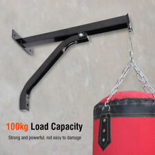 Wall Mount Heavy Bag Hanger Punching Bag Stand Boxing Bracket Max Load 100kg New