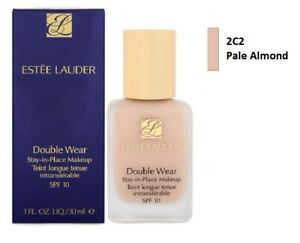Estee Lauder Double Wear Stay in Place Makeup Foundation - 2C2 Pale Almond 30ml