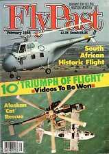 Flypast 1988 February Rearwin,Swa Fury,SAAF,Pilatus P2,Rapide,Junkers Ju390