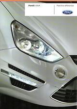 FORD S-MAX 2010/11 Regno Unito delle vendite sul mercato opuscolo Zetec TITANIUM X SPORT