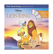 The Lion King Read-Along Storybook and CD Free Shipping