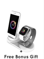 Apple Watch Series 5 Stand iPhone 11 pro//X/8/8Plus/7/7Plus/6s/6s Plus Dock