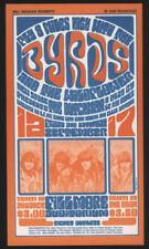 Bill Graham #Bg 28, Fillmore Post Card, 1966, The Byrds, The Wildflower