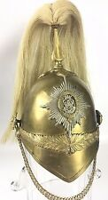 RARE 4th PRINCESS LOUISE DRAGOON GUARDS OFFICERS HELMET CAVALRY CANADA 1875-1965