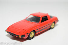 TOMICA DANDY TOMY MAZDA RX-7 RX7 SAVANNA RED MINT CONDITION