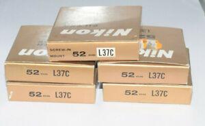 Set 6x Nikon Filter Magnifier Shade Hood