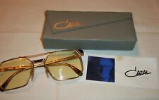 Vintage Gold Cazal Eyeglasses Glasses Germany Sunglasses Case Prescription ~ D3