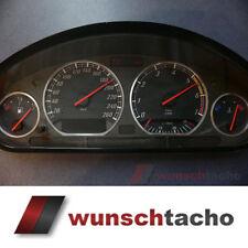 """Tachoscheibe für Tacho BMW E36 Benziner """"Ring"""" 260Km/h top"""