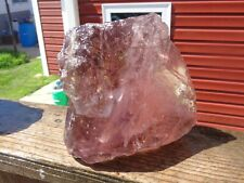 New listing Glass Rock Slag Clear Pretty Pink 9.0 lb Rocks Ii38 Landscaping Aquarium