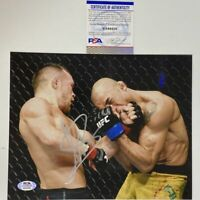 Autographed/Signed PETR YAN UFC MMA Fighting 8x10 Photo PSA/DNA COA Auto