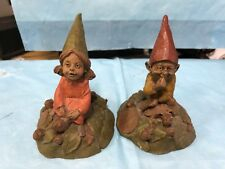 "Cairn Collection Gnome ""Lilibet"" & ""Eddie""-kh"
