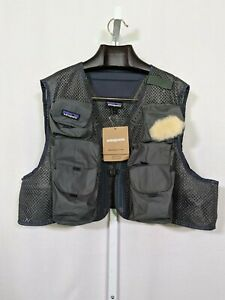 Patagonia Mesh Master II Fly Fishing Vest Sold Out NWT Large