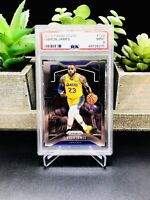 2019-20 Panini Prizm LEBRON JAMES #129 1st Year Los Angeles Lakers PSA 9 MINT