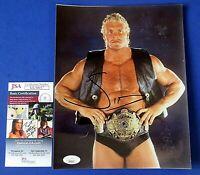 Sid Vicious SIGNED 8x10 PHOTO ~ WWF WWE WRESTLING ~ JSA KK30017