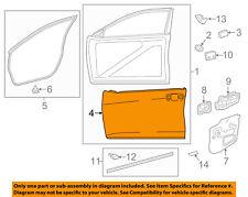 TOYOTA OEM 15-16 Camry-Door Skin Outer Panel Left 6711206160