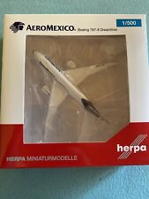 Herpa Wings 1:500 Aeromexico B787-8 Dreamliner N961AM