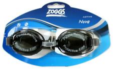 Zoggs Nova Swimming Goggles UV protection -Black/Blue