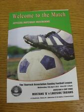 11/04/2012 Thurrock Sunday League Division 4 Cup Final: Mustang B v Lakeside Tro
