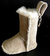 UGG Australian Sheepskin Boot Key Chain FOB NEW