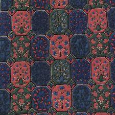 Men's Guy Laroche Images Hand Sewn Finest Silk Necktie Blue Red Geometric Tie