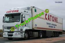 Truck Photo TR-00308 Renault  Reg:- LYJ064 Op:- Catone M20 Dover Lorry Kent