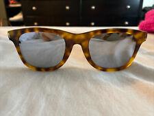 Saint Laurent SL51/F 016 Mirrored Havanna Sunglasses