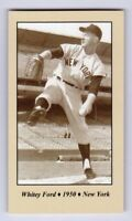 Whitey Ford '50 New York Yankees rookie season Tobacco Road series #35
