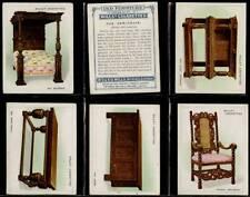 More details for full set, wills, old furniture, 1st series (l) 1923