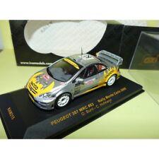 PEUGEOT 307 WRC RALLYE MONTE CARLO 2006 BURRI IXO RAM215 1:43 12ème