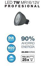 Bombilla LED MR16 12V 7W 'Profesional'